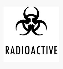 Radioaktiv Fotodruck