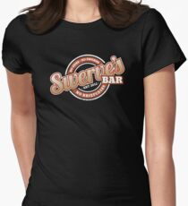 Swerve's Bar - Logo Women's Fitted T-Shirt
