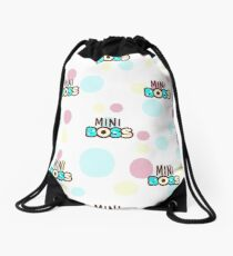 baby shower pillow Drawstring Bag