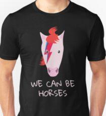 David Bowie Aladdin Sane And Heroes Parody Unisex T-Shirt