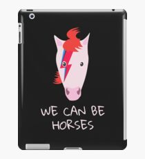 David Bowie Aladdin Sane And Heroes Parody iPad Case/Skin