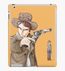 Back to the future 3 [fanart] iPad Case/Skin