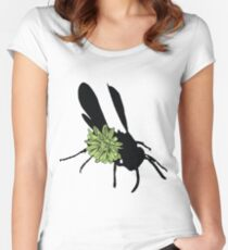 Flower Fly Women's Fitted Scoop T-Shirt
