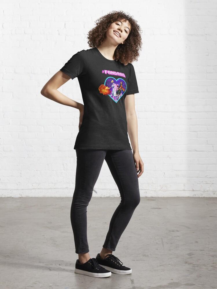 Alternate view of #FANDRAS Essential T-Shirt