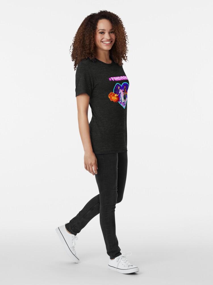 Alternate view of #FANDRAS Tri-blend T-Shirt