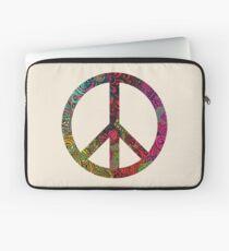 FLOWER POWER PEACE SYMBOL Laptop Sleeve