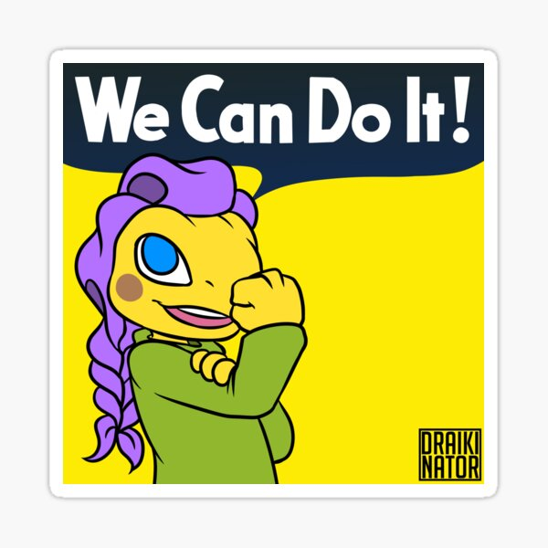 Women's History Month - Beauty Stem Sticker