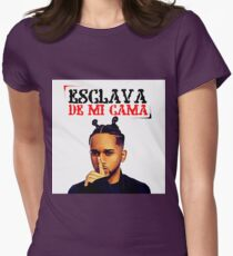 Bryant Myers - Esclava de Mi Cama Women's Fitted T-Shirt