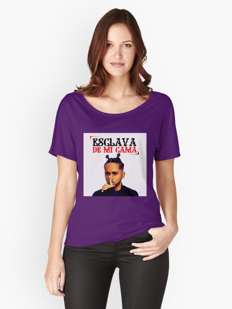 Camisetas anchas para mujer «Bryant Myers - Esclava de Mi Cama» de ...