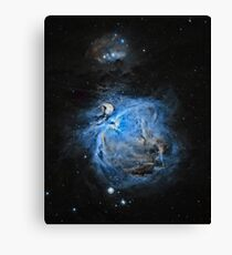Messier 42 Orion Nebula Canvas Print