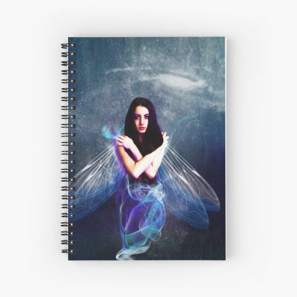 Blue  Sprite Spiral Notebook