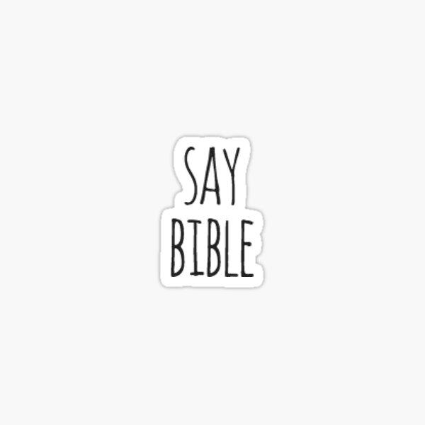 dire bible Sticker