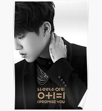 Wanna One (워너원) I Promise You (0+1=1) - Park Woojin (박우진) Poster