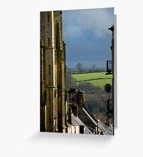 Coutances Landscape Greeting Card