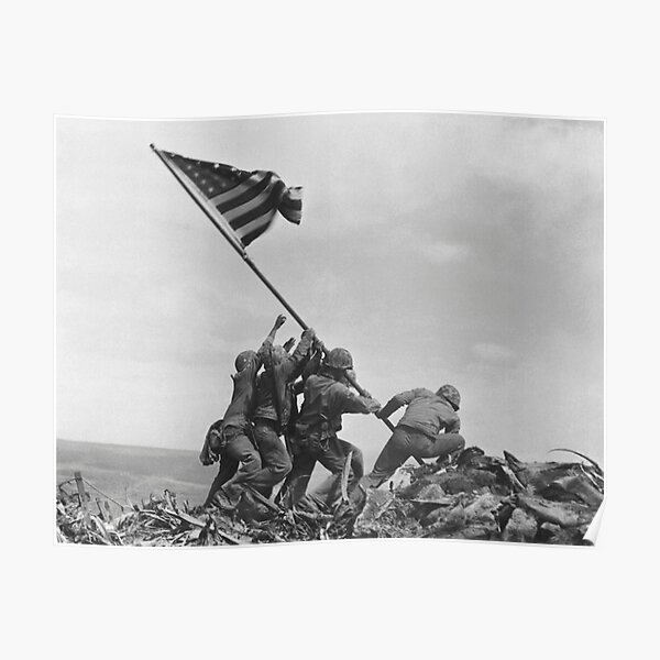2 Sizes Available American Soldier Oath American Flag Design Poster