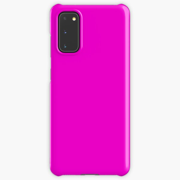 Fluorescent Neon Hot Pink Samsung Galaxy Snap Case