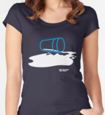 Did you spill my pint? Women's Fitted Scoop T-Shirt