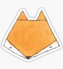 Fox Face Sticker