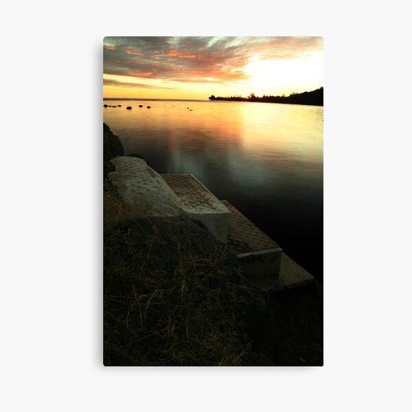 Cooks Bay Sunset, Moorea Canvas Print