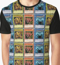 Yugioh Egyptian God Cards Graphic T-Shirt