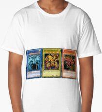 Camiseta larga Yugioh Egyptian God Tarjetas