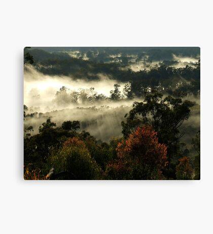 """Gum Tips & Mist"" Canvas Print"