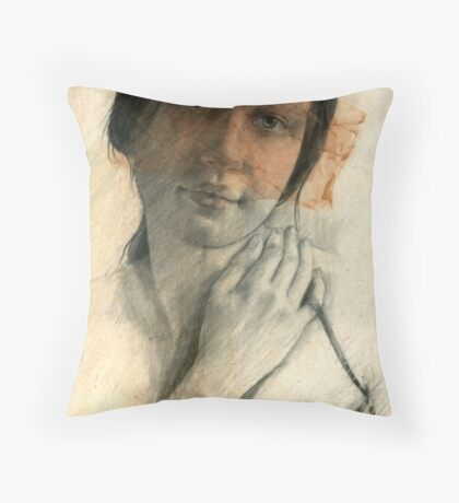 Donna's Mask Throw Pillow