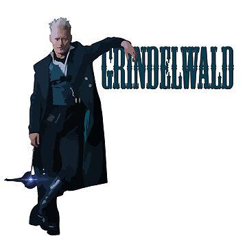 Gellert Grindelwald Fantastic Beasts The Crimes Of Grindelwald by TheShirtShopUK