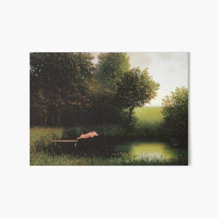Kohler Pig Painting Art Board Print