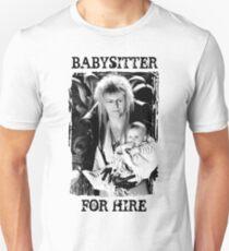David Bowie - Jareth: Babysitter For Hire Slim Fit T-Shirt