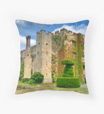 Hever Castle,Kent England Throw Pillow