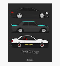 Grand Theft Auto JDM Series Photographic Print