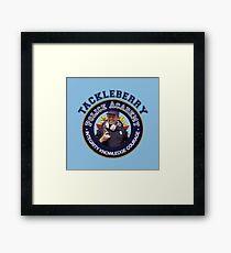 TACKLEBERRY - POLICE ACADEMY MOVIE  Framed Print