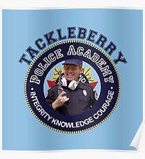 TACKLEBERRY - POLICE ACADEMY MOVIE  Poster