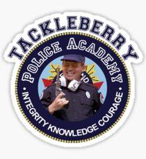 TACKLEBERRY - POLICE ACADEMY MOVIE  Sticker