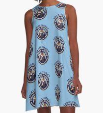 TACKLEBERRY - POLICE ACADEMY MOVIE  A-Line Dress