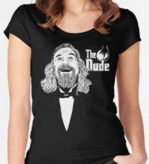 The Dudefather Women's Fitted Scoop T-Shirt