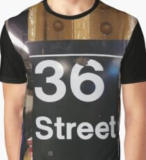 New York, Manhattan, Brooklyn, New York City, architecture, street, building, tree, car, pedestrians, day, night, nightlight, house, condominium,  Graphic T-Shirt