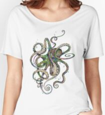Octopsychedelia Women's Relaxed Fit T-Shirt