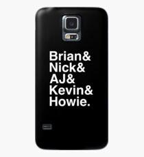 Backstreet Boys nennt Helvetica Ampersand Hülle & Klebefolie für Samsung Galaxy