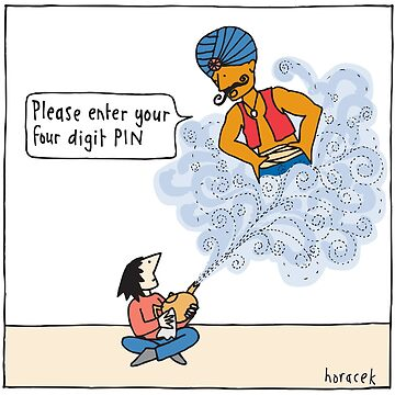 Genie PIN by judyhoracek