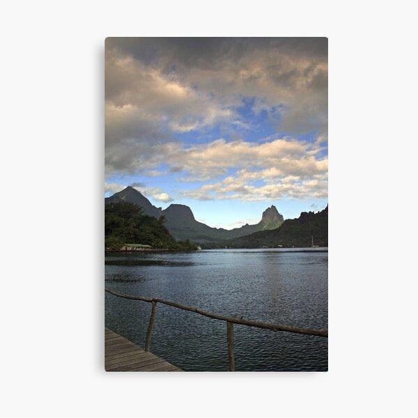 Moorea Morning Canvas Print