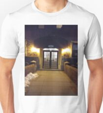 New York, Manhattan, Brooklyn, New York City, architecture, street, building, tree, car, pedestrians, day, night, nightlight, house, condominium,  Unisex T-Shirt