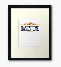 Oasis Time Framed Print