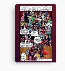 SheVibe Tristan Taormino Rise Of Reason Comic Canvas Print