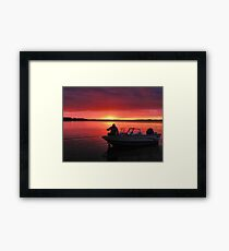 After The Day Is Done Framed Print