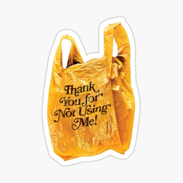 Thanks for not using me! Sticker