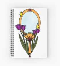Mirror mirror Spiral Notebook