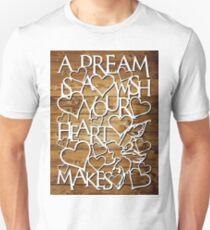 A dream is a wish - natural T-Shirt