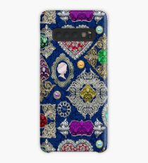 Gorgeous Victorian Jewelry Brooch Gemstone Collage Case/Skin for Samsung Galaxy